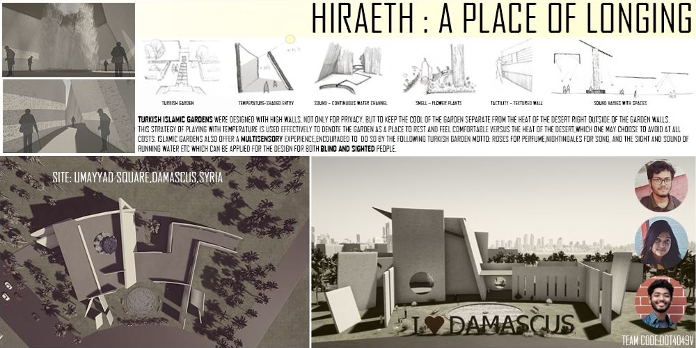 "ArchRUET students ""RECOGNIZED ENTRY"" for architectural idea competition ""Dots for The Blind "" by Architize"
